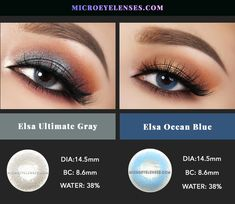 - Coloured Contacts Online丨Circle Lenses丨Cosmetic Lenses - See The Colorful World Blue Dia, Eye Color, Colour, Colored Contacts, Elsa, Lenses, Eyeshadow, Make Up, Ocean