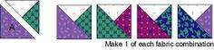 Card Trick Quilt Block Pattern
