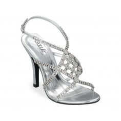 These #rhinestone studded heels are perfect for giving the bride that #redcarpet feel! <3 www.weddingworthy.com <3