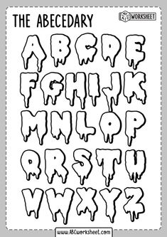 Graffiti Lettering Alphabet, Graffiti Font, Hand Lettering Alphabet, Cool Fonts Alphabet, Printable Alphabet Letters, Bullet Journal Lettering Ideas, Bullet Journal Writing, Bullet Journal Ideas Pages, Letras Cool