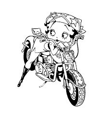Image Result For Betty Boop Coloring Book Pages