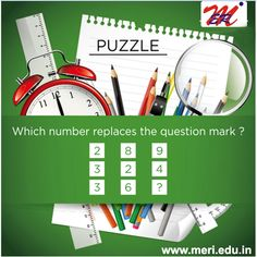 Lets play a game with numbers,what is the answer? http://meri.edu.in/