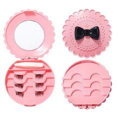 2cab72ff9ad5e High Quality 6Pcs 3D Magnetic False Eyelashes Natural Thick Eye Lashes  Extension Eyes Makeup With Mirror - NewChic Mobile