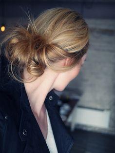 Camilla Pihl, hair
