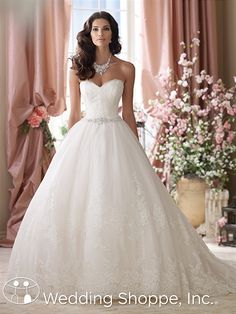 Bridal Gowns David Tutera for Mon Cheri Vera Bridal Gown Image 1