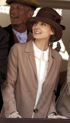 Downton Abbey Season 6 ...Anna at Brooklands..