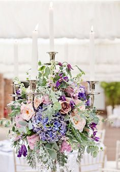 tall wedding centerpieces with candle,shabby chick wedding centrepieces ideas
