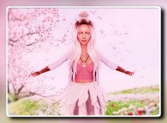Claws, Cherry Blossom, Royals, Shabby, Kitty, Crop Tops, Women, Style, Fashion