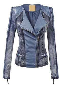 LL Womens Hooded Faux leather Jacket ✮✮✮✮ 778 customer reviews. Color: WJC1018_BLUE. 100% POLYURETHANE (shell) 100% POLYESTER(lining) Exposed zipper details Fully lined Medium weight HAND WASH COLD / HANG TO DRY / DO NOT IRON / DO NOT DRY CLEAN. https://twitter.com/TheMarketer2015/status/644553807125417985