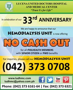 NO CASH OUT for Philhealth Members with either Senior Citizen or PWD benefits