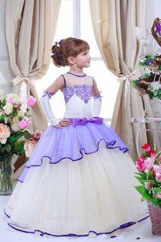 Graduation Hairstyles, Girls Dresses, Flower Girl Dresses, Purple Sparkle, Girls Dream, Prom Hair, Dream Dress, Playing Dress Up, Evening Gowns