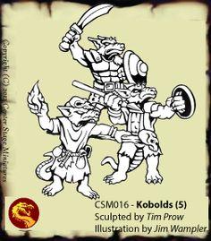 Center Stage Miniatures - Kobolds - 5 pack - $11.95