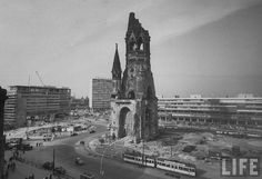 size: Photographic Print: Kaiser-Wilhelm Church Standing Among New Construction : Subjects Gedächtniskirche Berlin, West Berlin, Berlin Wall, German Architecture, Frame My Photo, Kaiser Wilhelm, East Germany, Life Photo, Photo Canvas
