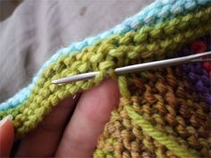 Seaming the Baby Surprise Jacket - Yarn Harlot