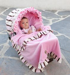 Coordinating Stroller Blankets