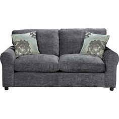Buy Argos Home Tessa 2 Seater Fabric Sofa Bed - Charcoal at Argos. Bed Settee, Futon Bed, Futon Mattress, Sofa Beds, Living Room Grey, Living Room Furniture, Sofa Bed Argos, Charcoal Sofa, Buy Sofa