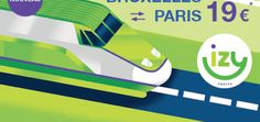 Izy : le train low-cost Paris Bruxelles debout pour 10€ (ou assis pour 19€)