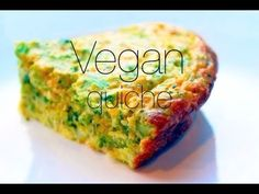 Oil Free Vegan Quiche Recipe - (egg, dairy, nut and tofu free!)