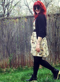 Dino Bones About It Dress | Mod Retro Vintage Dresses | ModCloth.com