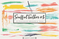 Scuffed Toolbox #3 : Brushes by Sugarplum Paperie on @photoshoplady