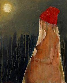 Mel McCuddin-'Dusty Moon'-The Art Spirit Gallery of Fine Art