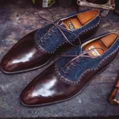 db55275a9d3 These shoes from Maison Corthay are part of a new trend for smarter takes  on denim