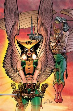 HAWKGIRL: HAWKMAN RETURNS TP//Walter Simonson/S/ Comic Art Community GALLERY OF COMIC ART
