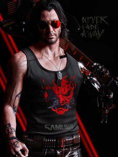 Cyberpunk 2077, Cyberpunk Games, Cyberpunk City, Arte Cyberpunk, Samurai, Cd Project, Keanu Reeves John Wick, Keanu Reaves, Cyberpunk Aesthetic