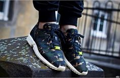 adidas zx flux militaire homme