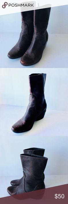 1c73f7f2cc33 Cole Haan Nike Air Brown Leather Ankle Boots 10B Beautiful Boots from Cole  Haan. The