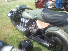 Low Goldwing bobber with sidecar