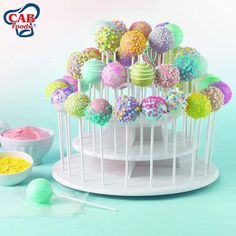 We have a new great way for you to hold and serve cupcakes and cake pops without all the fuss. Our new SUPER fun and convenient Cake Pop and Cupcake Stand is the answer to all your display problems. Available in store and online for ONLY R45.99!  (Current Price) #CABFoods