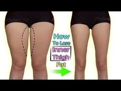 Lose Thigh Fat At Home With this Simple workout - YouTube
