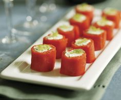 Smoked Salmon Rolls Recipe