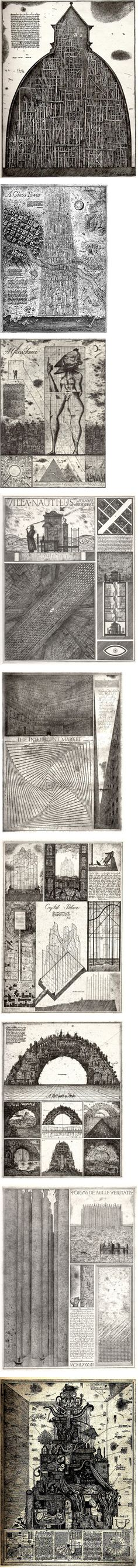 Brodsky & Utkin Illustration Art, Illustrations, Babel, Architectural Drawings, Woodblock Print, Gravure, Visual Identity, Line Drawing, Plans