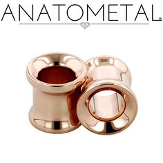 2ga Standard Eyelets in solid 18k rose gold