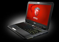 MSI GT60 2OD-261US laptop. MSI still has a few laptops left with proper keyboards like this, but its latest one also sports those IBM PC Jr-type chiclets.