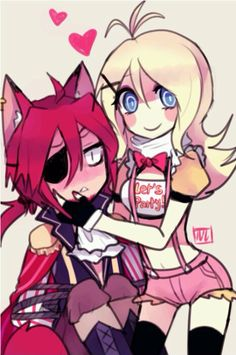 Oh~ Foxy X Toy Chica? Not bad. :3