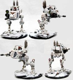 Warhammer Imperial Guard, 40k Imperial Guard, Ice Warriors, Plastic Man, Warhammer 40k Miniatures, Striders, Tabletop, Clone Trooper, Warhammer 40000