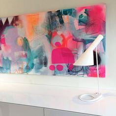 Magnifique !  Farverigt maleri