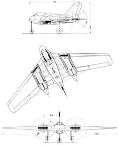 Luftwaffe, Airplane Sketch, Airplane Design, Spaceship Concept, Concept Ships, Ww2 Aircraft, Military Aircraft, Personal Jet, Delta Wing