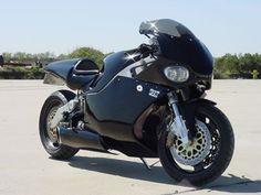 MTT Turbine Superbike: Rolls Royce 250-C20 turbo shaft engine, 320hp, 227mph max.
