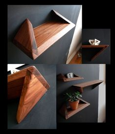 Geometric Decorative Shelf
