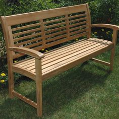 Have to have it. Regal Teak Westerly Bench - $778.68 @hayneedle