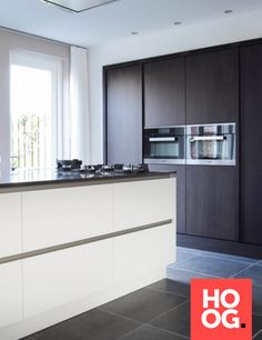 Keukens modern met inbouwapparatuur Schmidt, Kitchen Room Design, Garden Architecture, Luxury Living, Modern Design, Kitchen Cabinets, Outdoor Decor, Inspireren, Home Decor