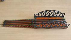 Very old tin toy #train bridge blech eisenbahn #brücke germany #bavaria pre-war ,  View more on the LINK: http://www.zeppy.io/product/gb/2/291997471132/
