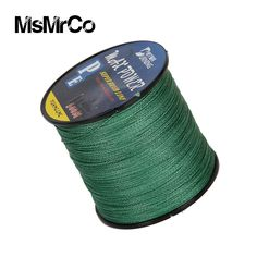 MsMrCo New 500M 5 Color Top Strong Braided 4 Strands Rope Wire Pull Multifilament PE Wear-resistant Full Float Lure Fishing Line olta largemouth bass ** AliExpress Affiliate's buyable pin. Detailed information can be found on www.aliexpress.com by clicking on the VISIT button #FishingLures