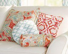 Kelly Ripa Round Pillow