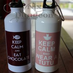 Aluminium drink bottles however YOU want it! Drink Bottles, Water Bottle, Canning, Drinks, Products, Drinking, Beverages, Drink, Home Canning