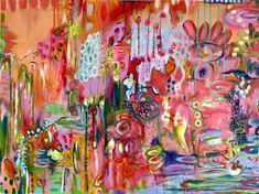 original artwork 30 x 40 by annie lockhart Drip Art, Art Journal Pages, Art Journals, Large Painting, Textured Painting, Painting Workshop, Cool Artwork, Amazing Artwork, Painting Inspiration